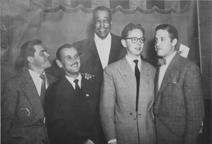 DJ Soulswede's father and Duke Ellington
