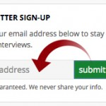 Sign-up for our free Newsletter